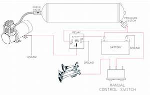 Air Horn Relay Wiring Diagram