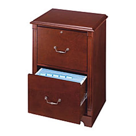 laminate office depot office depot brand laminate file cabinet 2 drawer 30 h x 21 34 w x 16 12 d cherry by office