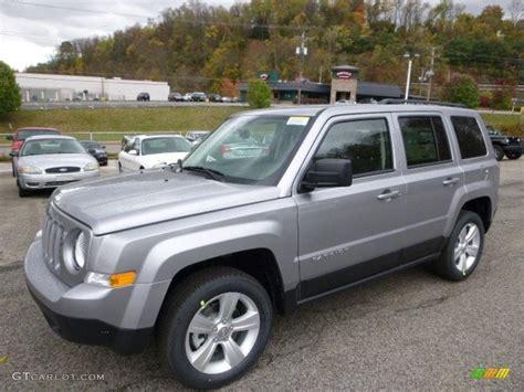 silver jeep patriot 2015 billet silver metallic jeep patriot latitude 4x4