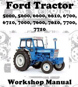 ford tractor        workshop