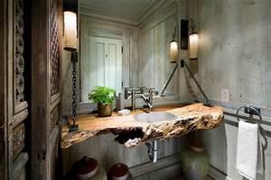 Holz Für Badezimmer : holz im badezimmer landhausstil im bad f r entspannende atmosph re ~ Frokenaadalensverden.com Haus und Dekorationen