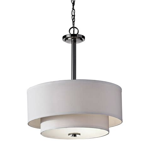 white drum pendant light modern drum pendant light with white jen joes design