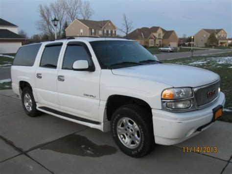 2002 Gmc Denali by Purchase Used 2002 Yukon Denali Xl In Orchard Park New