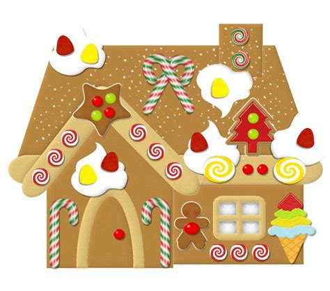Gingerbread House Clip Gingerbread House Clip Gingerbread Clipart