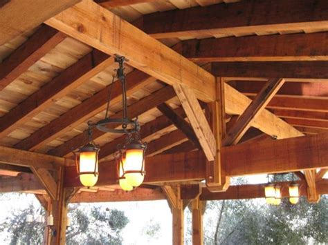 wood patio cover kits image mag