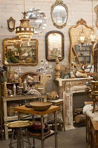 vintage furniture store display ideas