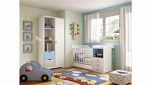 chambre bebe garcon lit evolutif star bleu glicerio so With tapis chambre bébé avec composer son canapé