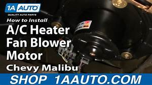How To Replace Heater Blower Motor With Fan Cage 97