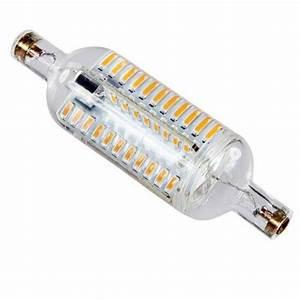 Ampoule Led R7s 78mm : ampoule 76 led 4014 r7s 78mm 5 watts format tube 360 ~ Melissatoandfro.com Idées de Décoration