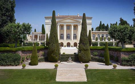 Legendary Mansion On The French Riviera With Neo-palladian