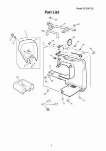 Janome Dc2007le Sewing Machine Service
