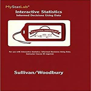 Interactive Statistics Informed Decisions Using Data 1st