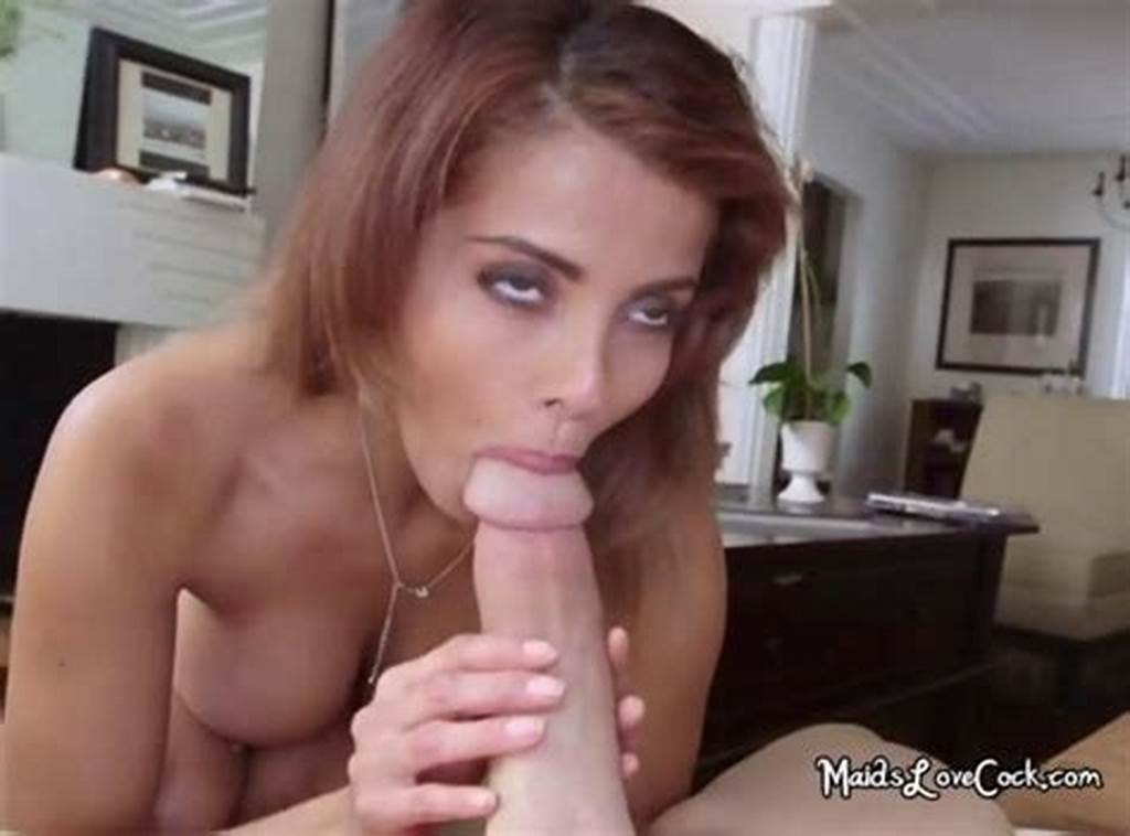 #Cute #Latina #Maid #Bianca #Sucking #Employers #Cock #On #Gotporn