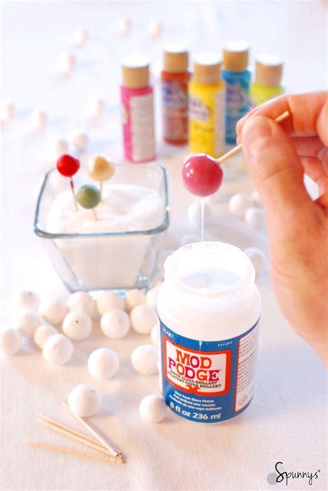 spun cotton balls  arts  crafts  sizes spunnys