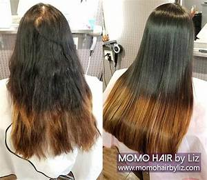 Japanese Hair Straightening 1 MOMO HAIR