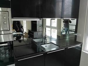 mobilier table credence miroir pour cuisine With credence en miroir pour cuisine