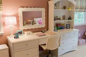 Bedroom Wall Cabinet Little Girl Bedroom With Desk Little