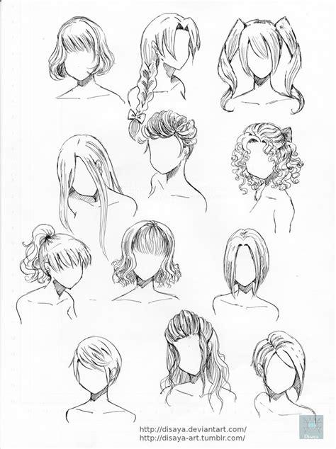hair reference   disaya  deviantart