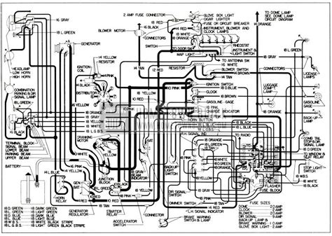1952 Chevy Sedan Turn Signal Wiring Diagram by 1956 Buick Electrical Systems Maintenance