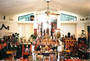 Navaratri - display of dolls (kolu) at home
