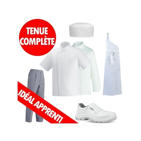 robur vetement cuisine tenue apprenti boucher charcutier tenue cap bac pro boucher