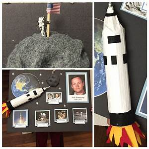 Neil Armstrong Report Kid Projects Space Facts For