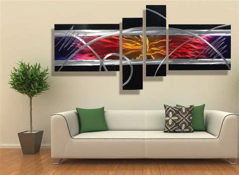 colorful wall decor metal wall decor 15 artistic marvelous ideas home loof