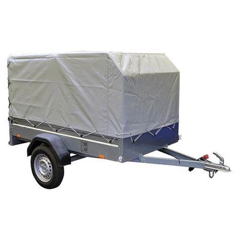 brenderup 1205 s brenderup trailer 1205 s fritidstrailer inkl presenning 500 kg