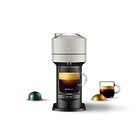 Espresso, at the touch of a button. Nespresso Vertuo Next Coffee & Espresso Machine NEW by Breville, Light Grey, Coffee Maker and ...