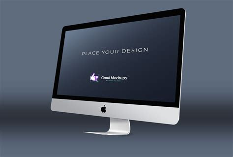 premium  apple imac mockup psd templates good mockups
