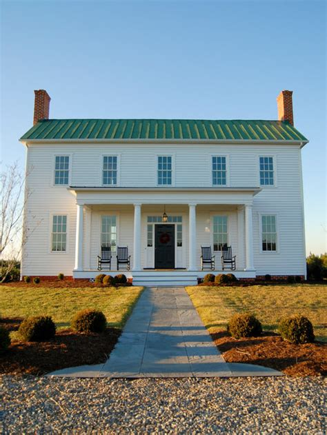 colonial front porch houzz