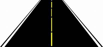 Road Clip Clipart Horizontal Vector Wide Clker