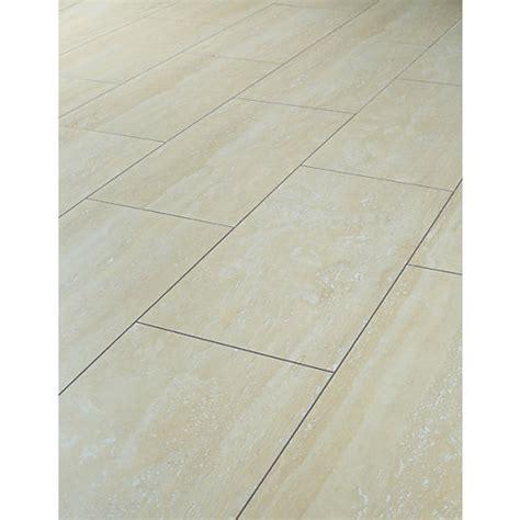 Wickes Travertine Tile Effect Laminate Flooring   Wickes.co.uk