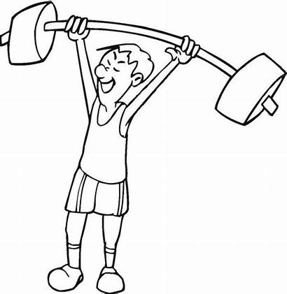 Exercise Coloring Pages Printable Exercises Preschoolers Health