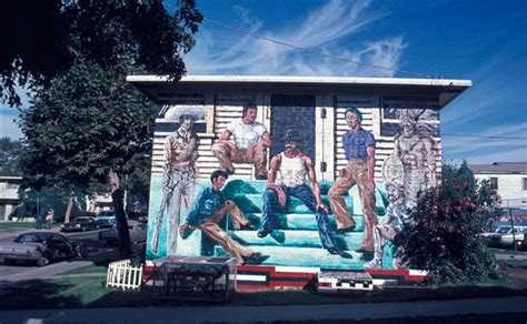 ernest  long outdoor mural image archive