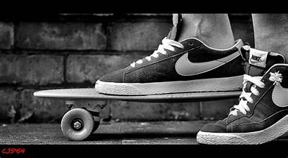 Skate Skateboard Nike Skateboarding Trainers Bw Nikon