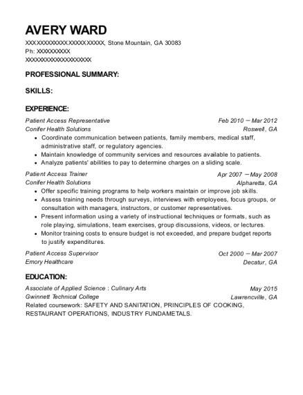 Patient Access Representative Resume by Best Patient Access Supervisor Resumes Resumehelp