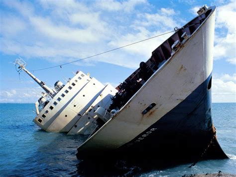 Sinking Boat by Of Depravity Sinking Ship