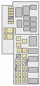 Toyota Solara Second Generation Mk2  2007 - 2009  - Fuse Box Diagram