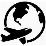 Icon Travel Airplane Plane Shipping Icons Flight