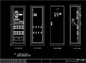 Cabinet Electrical In Autocad