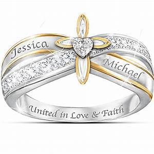 Christian engagement rings christian wedding rings for Religious wedding rings