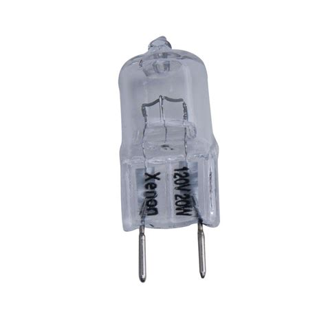 hton bay 20 watt halogen 120 volt g8 clear xenon