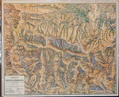 riesengebirge wanderkarte des riesengebirges zvab