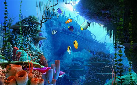 Animated Aquarium Desktop Wallpaper Windows 7 - aquarium wallpaper for windows 7 wallpapersafari