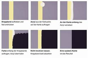 Wandgestaltung Mit Klebeband : zweifarbige w nde ideen zum streichen tapezieren gestalten ~ Markanthonyermac.com Haus und Dekorationen
