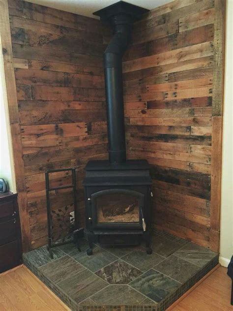 wood burning stove tiles tile design ideas