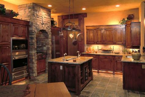 log cabin kitchen images log cabin kitchen kitchens