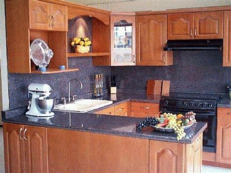 muebles  cocina de algarrobo casa web