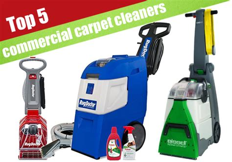 5 Best Heavy Duty Commercial Carpet Cleaners For 2017